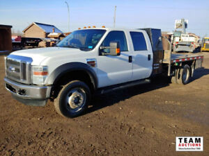 2009 Ford F-450 4X4 Dually Deck Truck