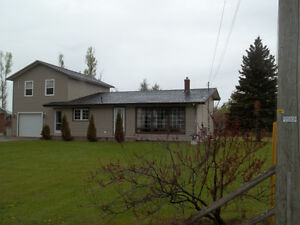 Good size home with new master/ensuite and garage