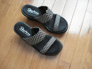 Geox and Skechers Sandals