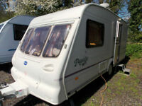 Bailey Pageant Monarch 2 Berth Lightweight Touring Caravan End Washroom