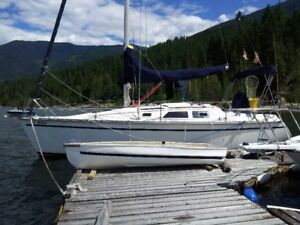 Sailing Charter/boat rental / Learn to Sail on Kootenay Lake BC