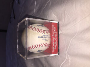 Brandon Inge signed baseball