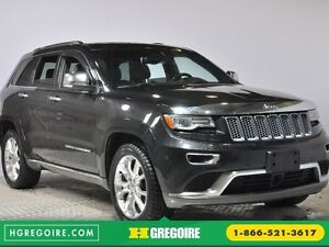 2014 Jeep Grand Cherokee Summit 4WD CUIR TOIT NAVIGATION MAGS BL