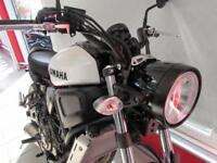 YAMAHA XSR700 35kW RESTRICTED IN 50TH ANNIVERSARY COLOURS... 0 MILES 2018 REG...