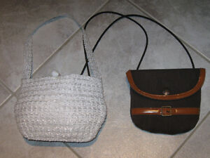 ....Two Adorable LITTLE GIRLS' SHOULDER BAGS...