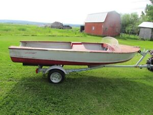 For Sale: 14' Birch Dreamboat with trailer