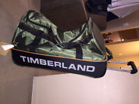 "Timberland 30""Drop Bottom Duffle luggage(never used,with ticket)"