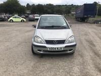 Mercedes-Benz A160 1.6 ( LWB ) Classic SE 5 door - 2004 04-reg - 3 MONTHS MOT