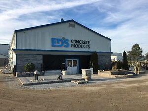 Ed's Concrete 20th Annual Yard Sale