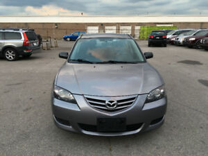2006 Mazda 3. CERTIFIED, E TESTED, WARRANTY, NO ACCIDENT