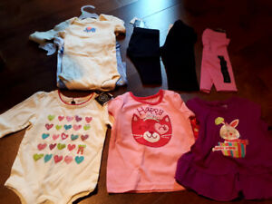 Brand new baby girls clothes