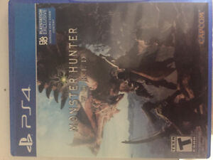 Monster hunter ps4 perfect condition