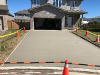 concrete driveways, walkways and patios