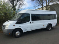 2009 59 Ford TRANSIT 2.4 TDCI EXTRA LONG 17 SEATER FACTORY MINIBUS ED MOD FFSH