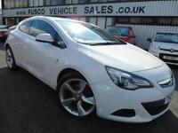 2013 Vauxhall Astra GTI 1.7CDTi SRi - White - 12 months PLATINUM WARRANTY!