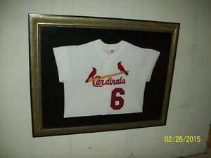 STAN MUSIAL FRAMED JERSEY West Island Greater Montréal image 3