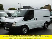 2012 FORD TRANSIT 300/100 SWB LOW ROOF DIESEL VAN.PARKING SENSORS,ELECTRIC PACK,