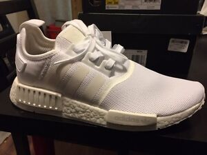 Adidas triple white nmd for sale