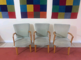 3 occasional chairs £30 a piece