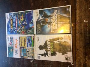 Wii & WiiU Games