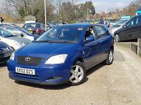 Toyota Corolla 1.6 VVT-i T3 BLUE, 5 doors, Manual, Petrol 1 YEAR WARRANTY