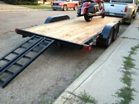 Trailer For Rent 16' Flatdeck Car Hauler -Free Accessories-