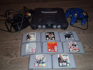N64 and Super Nintendo Systems with Games
