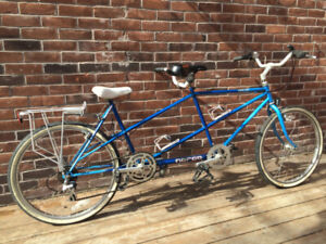 Vintage Norco Cape Cod tandem bike, with upgrades!