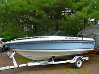 Thundercraft 162ss with 120 hp Evinrude Motor & Trailer