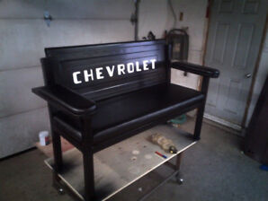 Custom made Tailgate benches