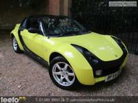 SMART ROADSTER 80 AUTO RHD 2004 Petrol Automatic in Yellow