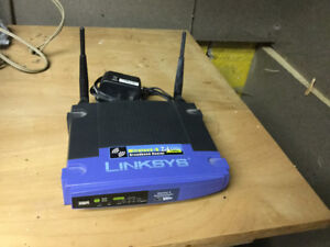 LINKSYS BROADBAND ROUTER WTR54g
