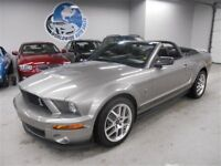 2009 Ford Mustang GT500 SHELBY CONVERTIBLE! FINANCING AVAILABLE