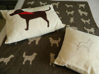 Baby/ Toddlers Dog Blanket & Pillows