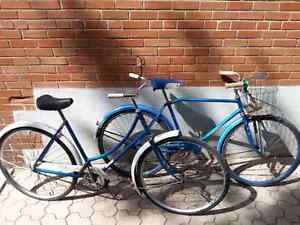 2 Vintage Cruisers His/Hers 1960's  *Loop Frame*  $250 for both!