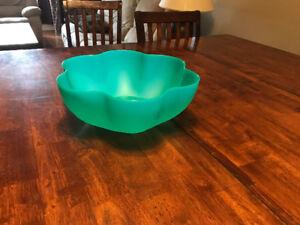 Tupperware chip bowl