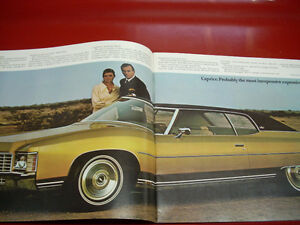 1971 Chevrolet sales brochure Peterborough Peterborough Area image 2