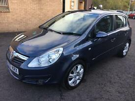 0707 Vauxhall Corsa 1.7CDTI 16v ( 125ps ) Design Blue 5 Door 81689mls MOT 12m