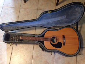 LH Seagull S6 with Case and Fishman Pickup