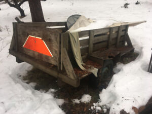 Trailer-For Tractor or ATV