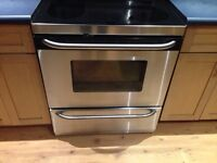 GE profile performance Stainless stove.