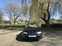 2005/55 Saab 9-3 1.8 Turbo Vector Sport 2 Door Convertible Black
