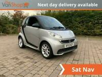 2013 smart fortwo 1.0 MHD Passion Softouch 2dr Auto Coupe Petrol Automatic