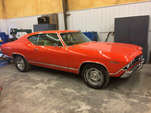 1969 CHEVELLE 350 4 SPEED