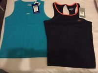 Two Women's REEBOK Sports Tops. Brand New. Size 12/Medium.