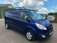 2016 Ford Transit Custom 2.0 TDCi 130ps Low Roof LWB Limited Van EURO 6 IN GOOD