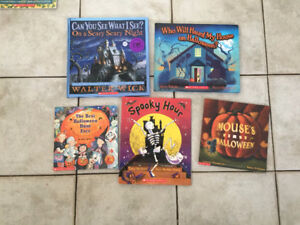 Halloween books-Hard and soft cover