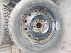 215 65 R16 Winter tires 2 sets of 4 on rims
