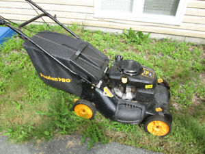 Self-propelled Poulan Pro lawn mower, 149CC for sale