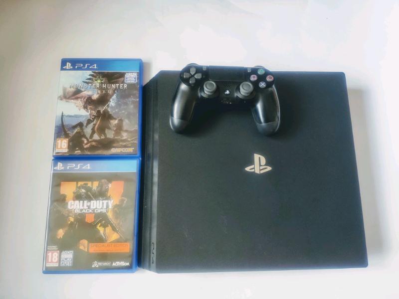 Official Playstation 4 Pro 1TB Bundle Set 4K UHD | in Watford,  Hertfordshire | Gumtree
